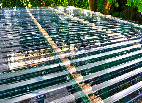 how to cut clear polycarbonate roofing panel